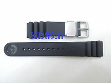 Authentic Seiko Rubber Watch Strap Band 22mm DA0C1DR 7C46-0AC0 SBBN015 SBBN017