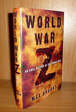 WORLD WAR Z by Max Brooks TRUE HB 1st PRINTING! Basis of Film !