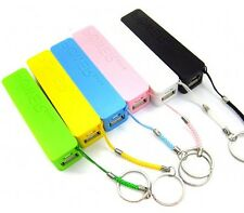 Powerbank Akku Extern 2600mAh USB Ladegerät Universal Smartphone Power Bank Neu