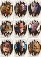 BUFFY THE VAMPIRE SLAYER - The Story Continues... 'Sunnydale Evil' Card Set (9)