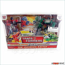Transformers Optimus Prime VS Megatron Ultimate w/DVD