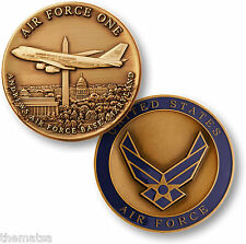 ANDREWS AIR FORCE BASE AIR FORCE ONE MILITARY BASE CHALLENGE COIN