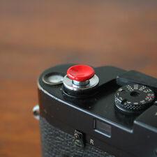 Red Medium Concave Soft Release Button for Leica M3 M6 MP M8 M9 X100 Nikon Canon
