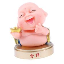 Cute Maitreya Buddha Bobblehead Animal Doll Car Dashboard Home Decor #1
