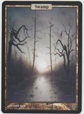 ►Magic-Style◄ MTG - Swamp / Marais - Unhinged - Textless - Full Art - NM