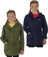 Regatta Girls Treasure II Parka Waterproof Longer Length Girls Coat