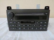 03-09 Lincoln Town Car Audio System Am Fm Radio Tape Cd Disc Player Oem Alpine
