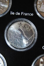 Pièce 10 euros des régions argent 2010 Ile de FRance sous capsule