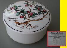 Villeroy & Boch Luxembourg BONBONNIERE BOITE vintage BOTANICA Vaccinium vitis