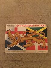 Brooke Bond Album and Picture Cards 'Flags & Emblems of the World' with 50 cards