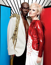 Maxi Jazz and Sister Bliss UNSIGNED photo - E473 - Faithless