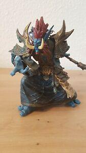 Originale World of Warcraft DC Direct WoW Figur Zabra Hexx (Troll)Sammlerzustand