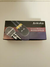 Ankuka Wired Dynamic Karaoke Microphones Professional Handheld Vocal Mic