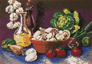 Mini Stecksystem Stilleben Küche ca. 7.600 Teile mit XXL-Steckvorlage Nr. 41140