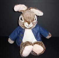 "18"" Dandee Peter Rabbit Bunny Soft Plush Stuffed Animal 2019 Blue Coat"
