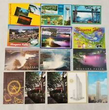 Niagara Falls New York State Unused Post Cards Empire State Building