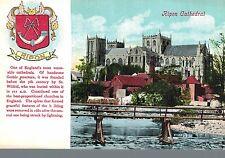 Ripon,U.K.Cathedral,North Yorkshire,Crest,c.1909