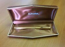 AURORA GL TIPO 98 gold plated + BOX ORIGINALE PENNA A SFERA FUNZIONANTE