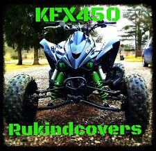 GREEN EYES Headlight Covers Kawasaki KFX450 08-13 KFX 450 KFX450R 450R