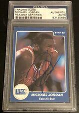 MICHAEL JORDAN 1985 '85 Star #4 LITE ALL-STARS SIGNED AUTO AUTOGRAPH PSA/DNA !