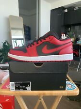 Air Jordan 1 Low Reverse Bred Size 11 DS New with Box