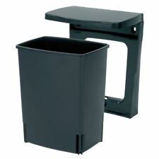 Brabantia Built-in Waste Bin, Cupboard/Wall Mounted 10 litre Rectangular - Black