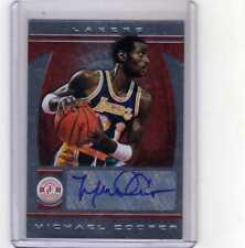 2013-14 Totally Certified Silver Michael Cooper Lakers AUTO 88/99 !