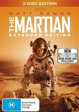 The Martian (Extended Edition, 2-Disc Set) NEW DVD