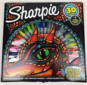 SHARPIE 30 Count Set COLLECTORS EDITION Factory Sealed ~ BRAND NEW