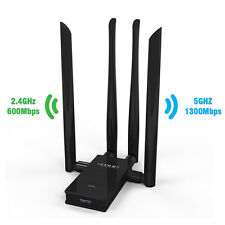 EDUP-11AC 1900 DUAL BAND WLAN Adapter 2.4 GHz(600Mbps)&5GHz(1300Mbps) Wifi Stick