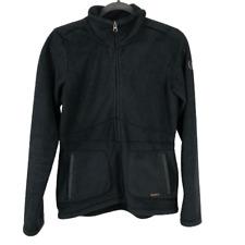 Kerrits Womens Jacket Basic Full Zip Hooded Fleece Equestrian Black Small S