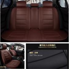Universal Anti-wear PU Leather 5 Seats Car Seat Covers Chair Cushion Full Set