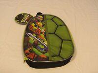 RARE Crocs lunch bag insulated sack TMNT SHELL Teenage Mutant Ninja turtles NEW