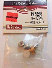 Hitec Metal Servo Gear Set HS-205MG/225MG PN 56396 RC Part