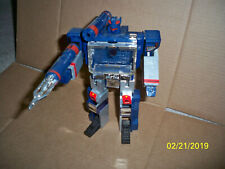 Transformers 4th Party Oversized Soundwave G1 Rare