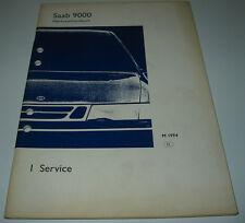 Werkstatthandbuch Saab 9000 Service Auslieferung ab Baujahr 1994!