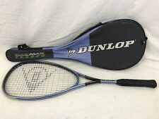 Dunlop Black Max Carbon 520 Squash Racket Oversize Head Advanced Control System