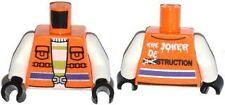 LEGO - Minifig Torso Safety Vest with 'THE JOKER DESTRUCTION' Pattern