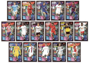 MATCH ATTAX EXTRA 2019/20 FULL SET OF SIXTEEN (16) RISING STAR TRADING CARDS - #