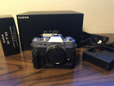 Fujifilm X-T20 24.3MP Mirrorless Digital Camera - Silver, with Leather Case
