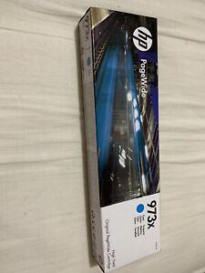 HP 973X Cyan Pagewide Inkjet Cartridge