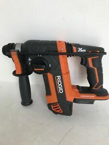 RIDGID R86711 Brushless 18v 1 Inch SDS Plus Rotary Hammer GR