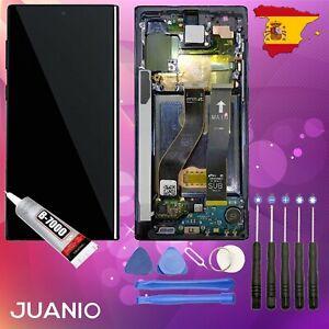 """Pantalla LCD + Vidrio táctil para Samsung Galaxy Note 10 SM-N970F 6.3"""" Negro"""