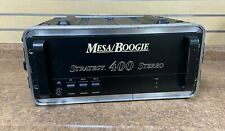 *Vintage Mesa Boogie Strategy 400 Stereo Power Amp w/ Road Case Free Shipping
