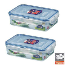 2PCS LOCK & n LOCK Food Storage container, BABY feeding HPL815C, 19 oz /550ml