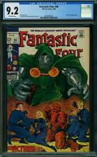 Fantastic Four #86 CGC 9.2 -- 1969 -- Doctor Doom. A++ centering #2001982009