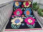 Moroccan Vintage Handmade Wool Rug Azilal Berber Moroccan Rug Beni ourain Carpet