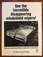 "1967 Pontiac Firebird 400 Convertible 325 hp Original Print Ad-8.5 x 11/"""