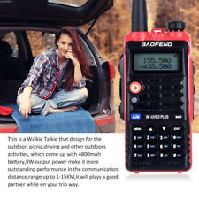 BAOFENG BF-UVB2 Two-Way Walkie Talkie VHF UHF FM Radio 5W For Driving Travel ON