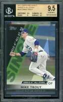 Mike Trout Rookie Card 2011 Topps Pro Debut Single-A All Stars #SA13 BGS 9.5